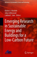 Emerging Research in Sustainable Energy and Buildings for a Low Carbon Future PDF