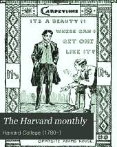 The Harvard Monthly: Volumes 29-30