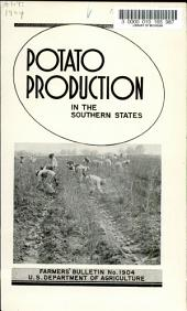 Potato Production in the Southern States