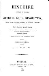 Campagnes de 1794, 1795 et 1796