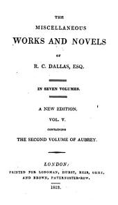 The second volume of Aubrey