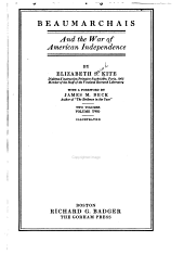 Beaumarchais and the War of American Independence: Volume 2