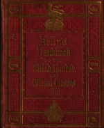 Kelly's Handbook to the Titled, Landed & Official Classes