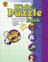 Kids' Puzzle Book, Grades 1 - 5: Volume 22