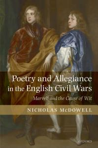 Poetry and Allegiance in the English Civil Wars PDF