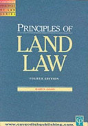 Principles of Land Law