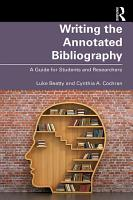 Writing the Annotated Bibliography PDF