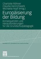 Europ  isierung der Bildung PDF