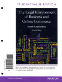 Legal Environment of Business and Online Commerce  The  Student Value Edition