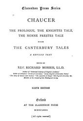 Prologue, The Knightes Tale, The Nonne Preestes Tale from The Canterbury Tales