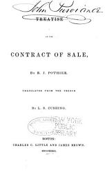 Treatise On The Contract Of Sale Book PDF