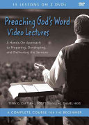 Preaching God s Word Video Lectures