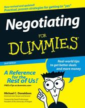 Negotiating For Dummies: Edition 2