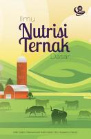 Ilmu Nutrisi Ternak Dasar PDF