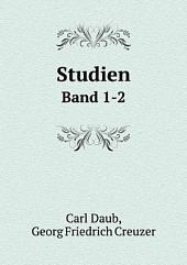 Studien: Band 1