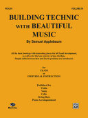 Building Technic with Beautiful Music, Bk 3