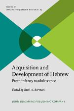 Acquisition and Development of Hebrew