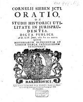 Oratio de studii historici utilitate in jurisprudentia
