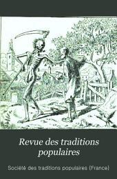 Revue des traditions populaires: Volume9