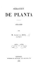 S. De Planta. 1770-1839