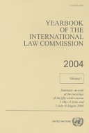 Yearbook of the International Law Commission 2004 PDF