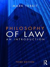 Philosophy of Law: An Introduction, Edition 3
