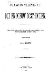 François Valentijn's oud en nieuw Oost-Indien: Volume 3