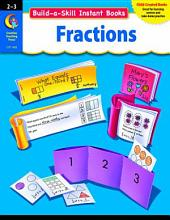 Build-a-Skill Instant Books: Fractions, Gr. 2–3, eBook: Fractions