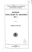 Decisions of Railway Board of Adjustment PDF