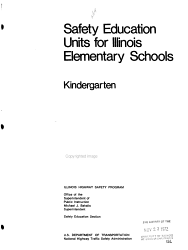 Safety Education Units For Illinois Elementary Schools Book PDF