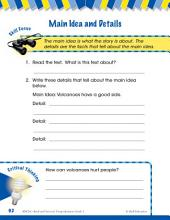 Read & Succeed Comprehension Level 1: Main Idea & Details Passage and Questions