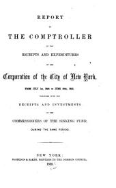 Consolidated Annual Report of the Comptroller of the City of New York for the Fiscal Year ...
