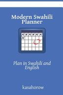 Modern Swahili Planner PDF
