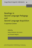 Readings in Second Language Pedagogy and Second Language Acquisition