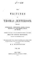 The Writings of Thomas Jefferson: Correspondence