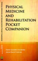 Physical Medicine   Rehabilitation Pocket Companion PDF
