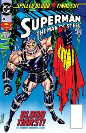 Superman: The Man of Steel (1991-) #29