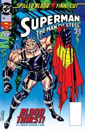 Superman: The Man of Steel (1991-) #29