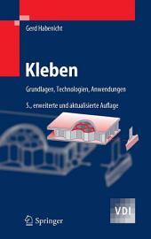 Kleben: Grundlagen, Technologien, Anwendungen, Ausgabe 5