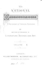 The national encyclopædia. Libr. ed: Volume 10