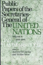 Public Papers of the Secretaries General of the United Nations: Volume 4