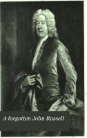 A Forgotten John Russell PDF