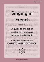 Singing in French, volume 2 - higher voices