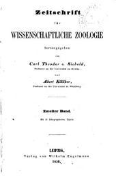 Zeitschrift für wissenschaftliche Zoologie: Abteilung A, Band 2