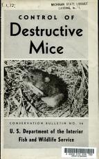 Control of Destructive Mice PDF