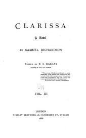 Clarissa: A Novel, Volume 3