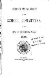 Report of the School Committee of Fitchburg ...
