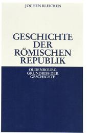 Geschichte der Römischen Republik: Ausgabe 6