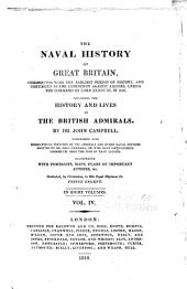 Naval history of Great Britain: including the history and lives of the British admirals, Volume 4