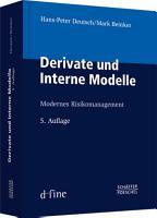 Derivate und Interne Modelle PDF